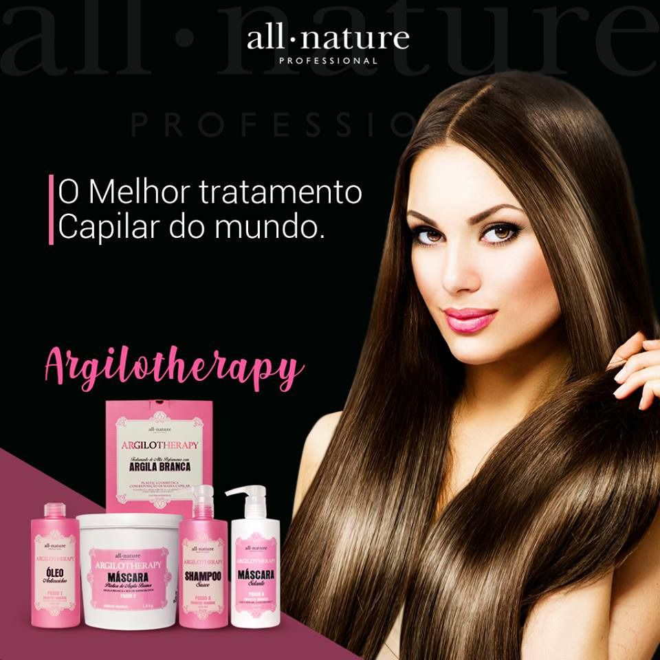 Shampoo Suave Argilotherapy de Argila 500ml All Nature