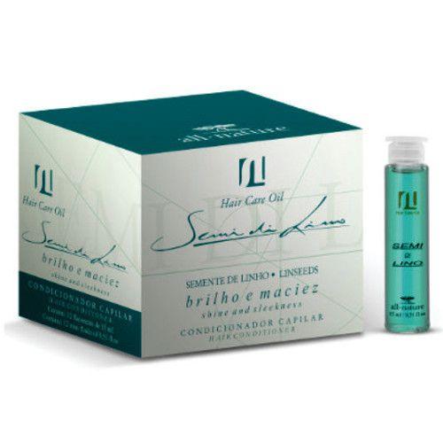 SOS Aminoácido Cistina Para Cabelos Elásticos + Semi Di Lino Hair Care Oil All Nature - Alto Brilho Maciez e Sedosidade em 5 Minutos - All Nat