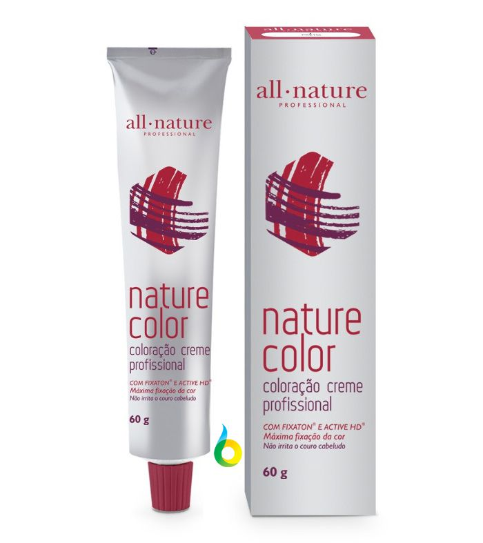 Tintas Corretivas Nature Color 60g - Coloração Creme All Nature - Mix Tom - 0.11 - 0.22 - 0.33 - 0.44 - 0.66