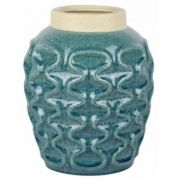 Vaso Cerâmica Azul Turquesa UE0064 (X)