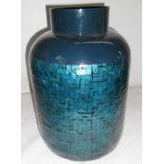 Vaso Madrepérola Azul (A)