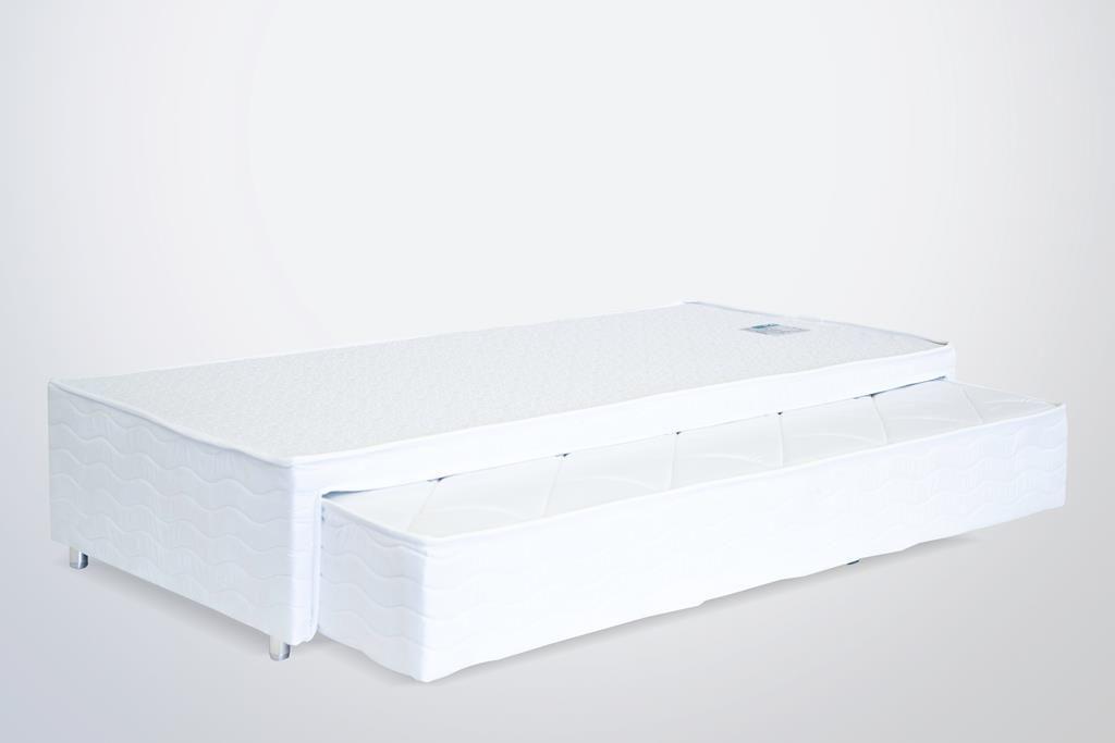 Bibox Plus Com Colchão Miami Mola Pocket