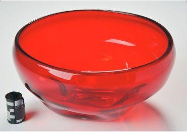 Bowl Vidro Vermelho