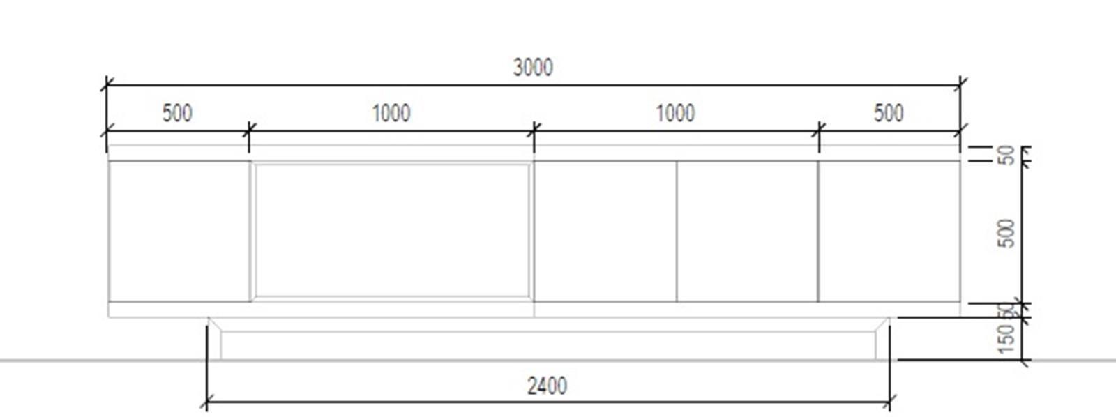 Buffet Modular (D)