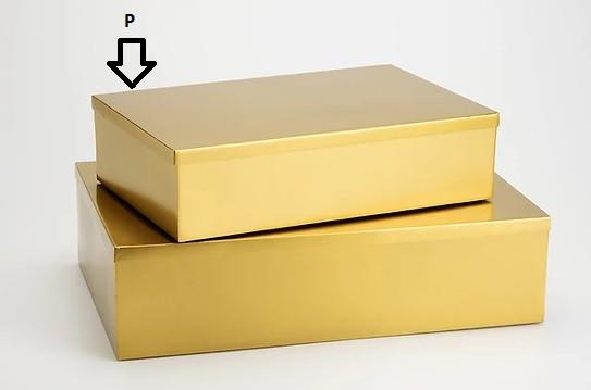 Caixa Latonada Gold (I)