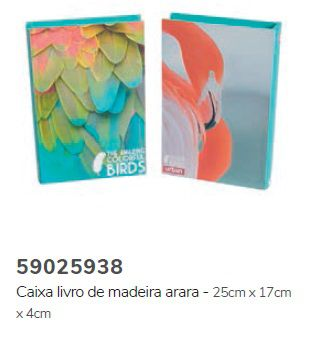 Caixa Livro Birds