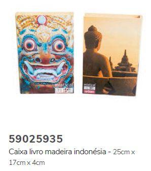 Caixa Livro Indonésia