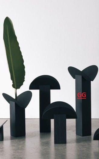 Castiçal GG Carbonizado - Estúdio Iludi (A)