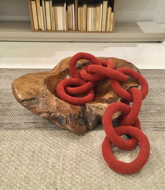 Corrente Crochetada Potássio (A)