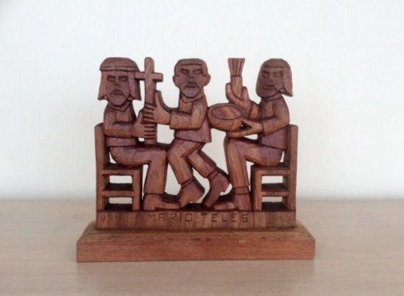 Escultura Benzedores - Mário Teles (A)