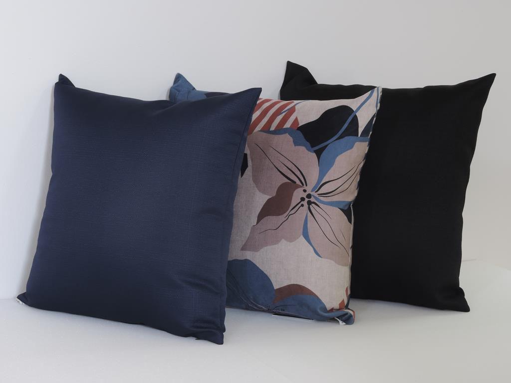 Kit Almofada Silk Folhas- Exclusivo Líder