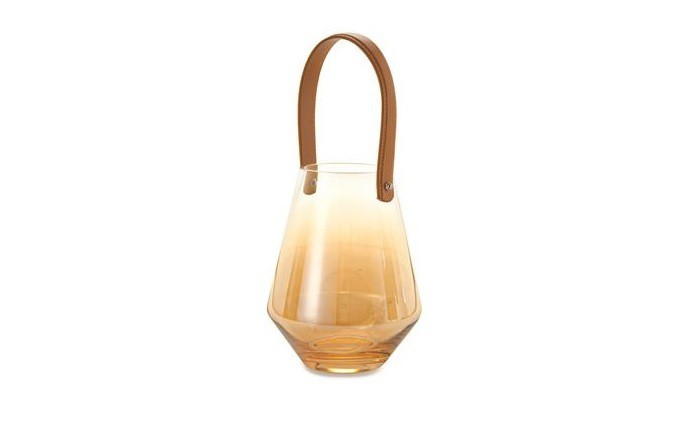 Lanterna G Vidro Champanhe (I)
