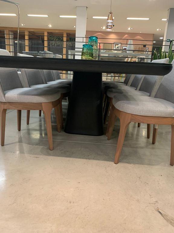 Jogo de Mesa de Jantar Sense com 8 cadeiras Neo (A)