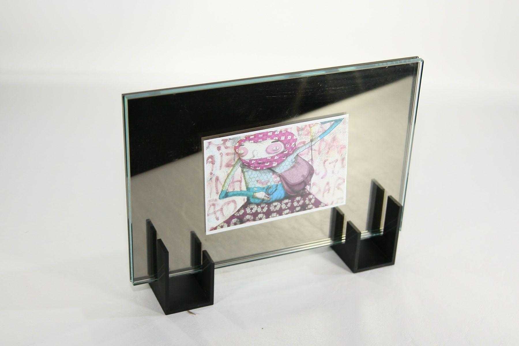 Porta Retrato Espelhado M