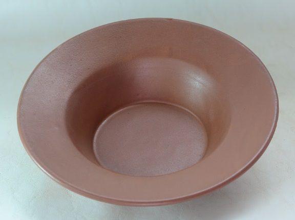 Prato de Sopa Cerâmica Terracota