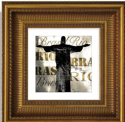 Quadro Rio 5573 36x36cm (A)