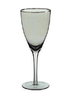Taça para Vinho 330ml Prata