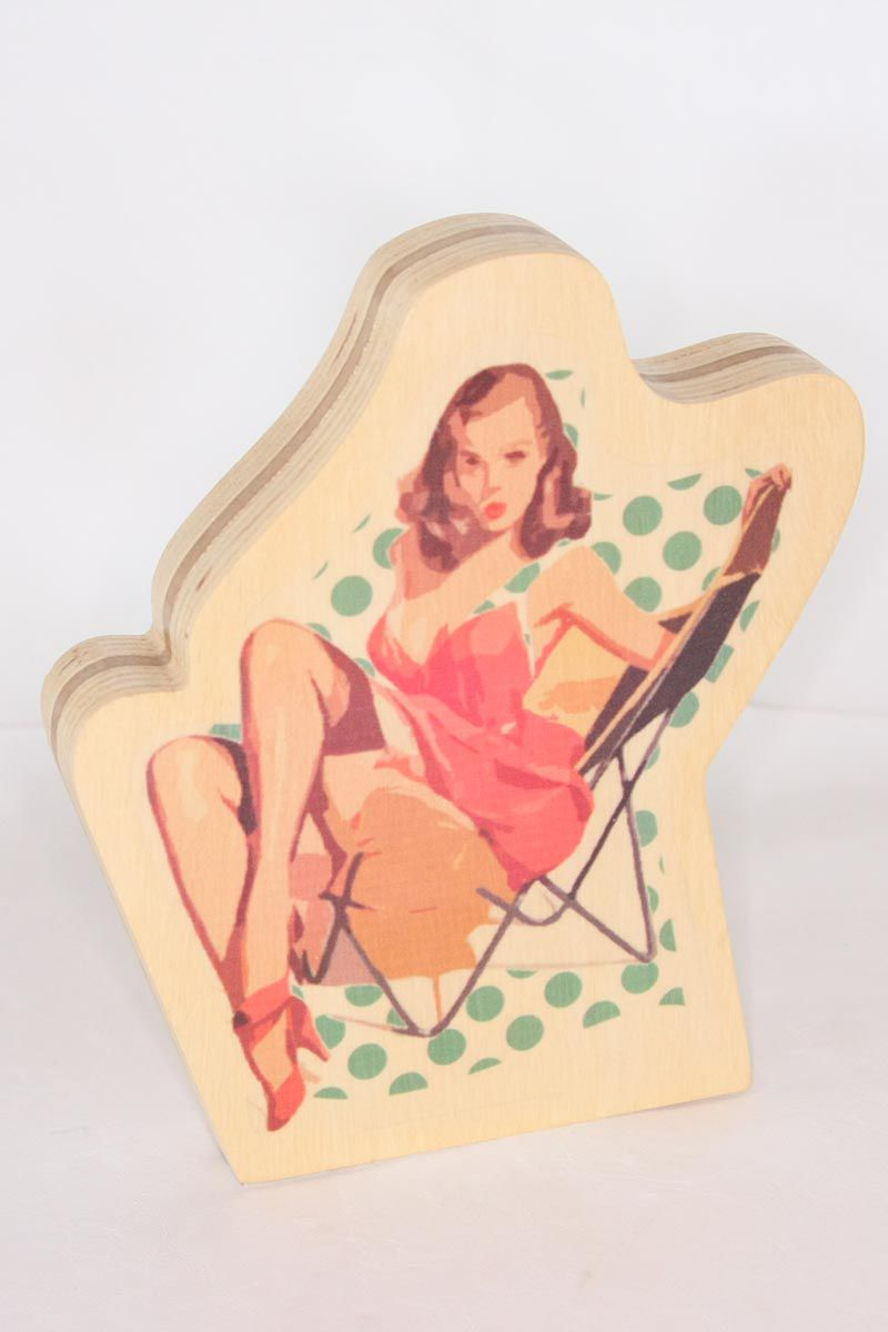 Escultura Toy Pinup