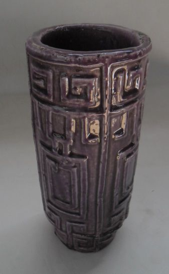 Vaso Aztec Roxo