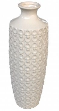 Vaso Cerâmica Branco (I)