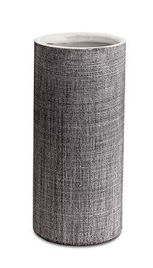 Vaso Cerâmica Cinza