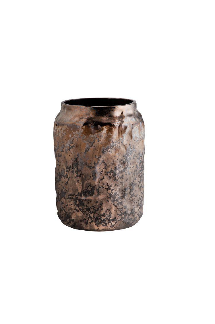 Vaso Cerâmica Cobre (A)