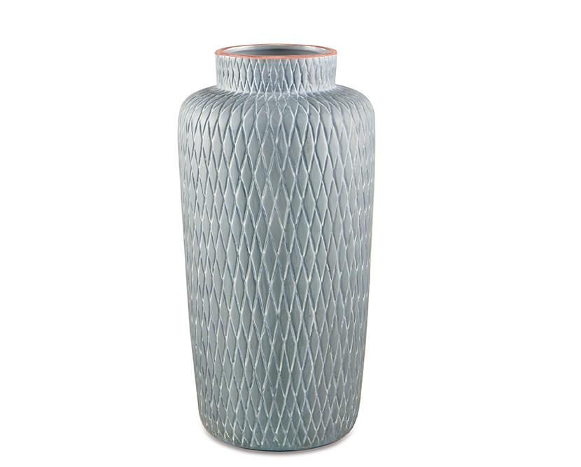 Vaso Cinza em Cerâmica (I)