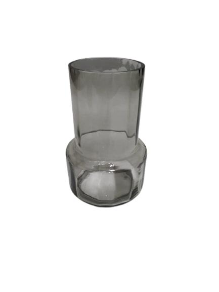 Vaso em Vidro Fumê M (I)