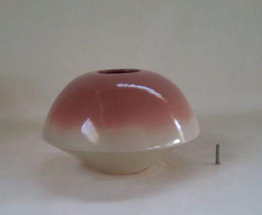 Vaso Esfera G Bicolor Nude - Exclusividade Lider (A)