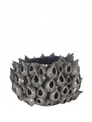 Vaso Fiji Cinza (A)