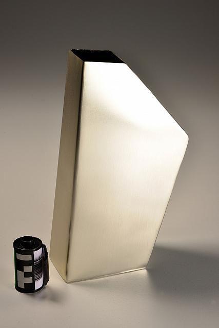 Vaso Inox Prata Fosco