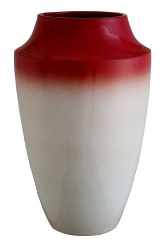 Vaso Tie Dye Vermelho