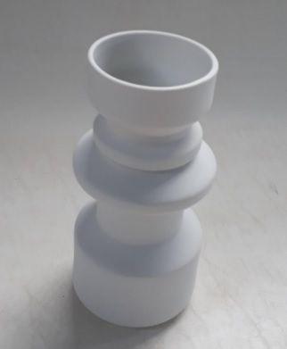 Vaso Totêmico M Branco Fosco