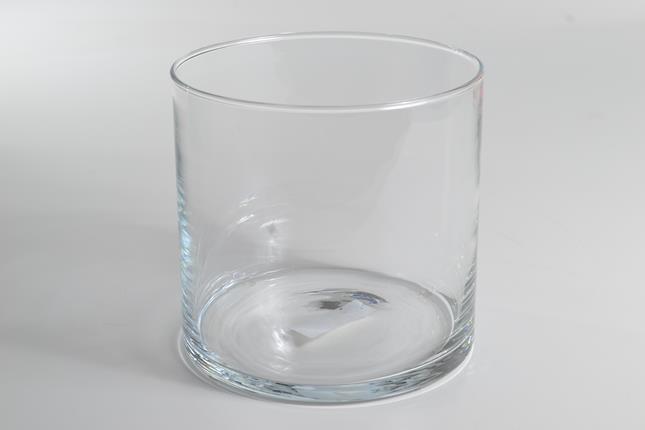 Vaso Vidro Incolor 18X12cm (X)