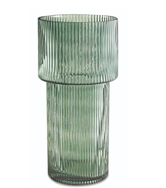 Vaso Vidro Verde G (I)