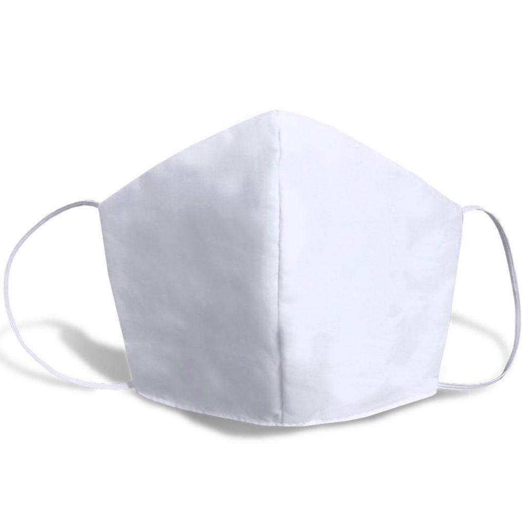 Máscara de Tecido Duplo, Reutilizável e Lavável 05 Unidades