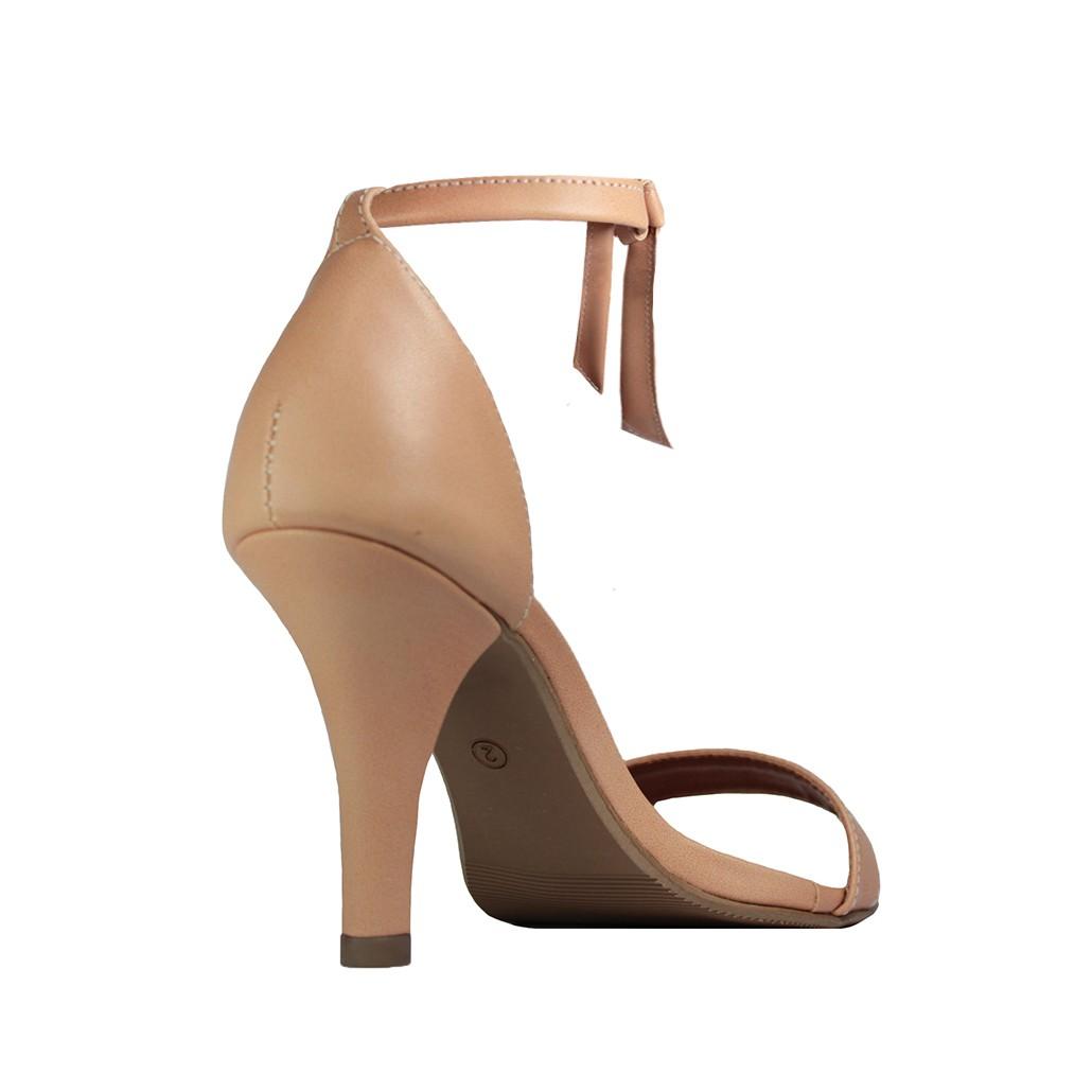 Sandália Troca Tira Salto Alto Fino Luiza Sobreira Nude Mod. 2214-2