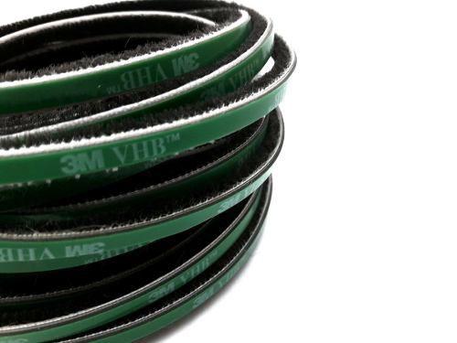 Escovinha Vedadora Adesiva 5x5mm - 10 Metros 3m - Cinza