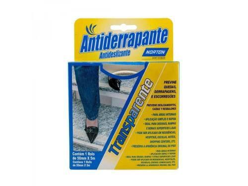Fita Antiderrapante Autoadesiva 50mm X 5mts Incolor