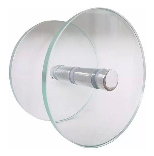 Puxador De Vidro Prolongador Incolor Para Portas Blindex