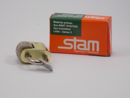 Cadeado Segredo 3 dígitos 25mm Stam