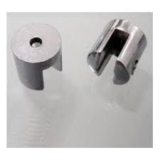 Suporte fenda para prateleira vidro 4mm - 10 unidades