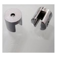 Suporte fenda para prateleira vidro 4mm - 50 unidades