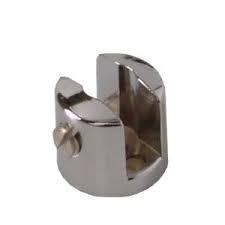 Suporte fenda para prateleira vidro 6mm - 50 unidades