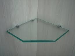 Suporte fenda para prateleira vidro 8mm - 50un