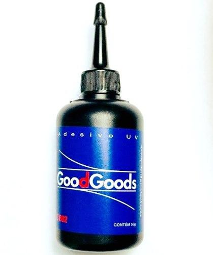 Cola UV Good Goods - Adesivo estrutural para colar vidros 50ml