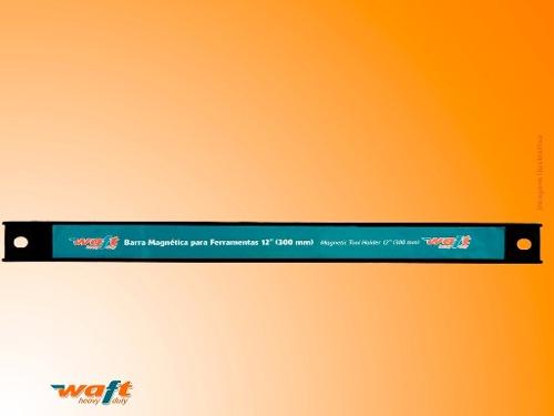 """Barra magnética suporte para facas de cozinha e ferramentas 30cm 12"""" Waft"""