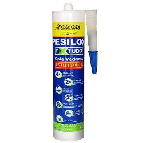 Cola pesilox fixtudo Adespec 280gr incolor