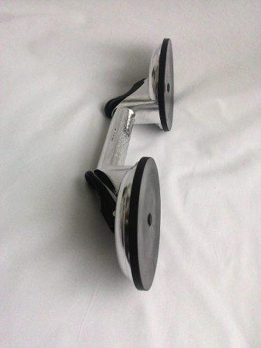 Ventosa dupla de alumínio