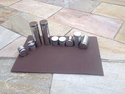 Prolongador de inox escovado 19x25mm - 4 unidades